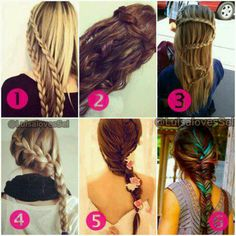 These are cool and fun things to do with your hair