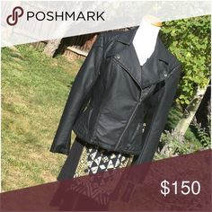 FCUK Black Moto Roller Girl Jacket Zippered Accent Classic style 100% PU moto jacket! Rayon backed & fully lined. Specialist dry clean. Measurements on request.   Ask ALL questions before buying, sales are final. I try to describe the items I sell as accurately as I can but if I missed something, please let me know FIRST so we can resolve it before you leave < 5🌟rating.   🚫TRADES/OFFLINE TRANSACTIONS 🚫LOWBALLING (Please consider the 20% PM fee) ✅Use OFFER BUTTON please  100% Authentic…
