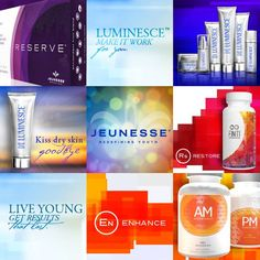 Jeunesse has SO many amazing products, it's hard to pick my favorite.