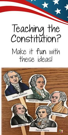 5 Hands on Ideas for Teaching the US Constitution