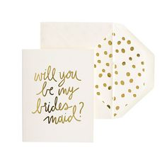 will you be my briidesmaid? card
