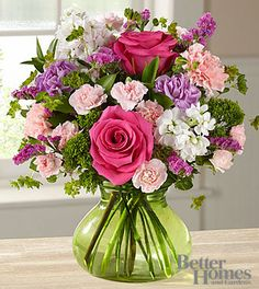 The FTD® Gratitudes Wish Mothers Day Bouquet by Better Homes and Gardens® - VASE INCLUDED