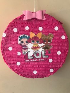 Le plus à jour Écran piata lol Concepts Birthday Pinata, Llama Birthday, 9th Birthday Parties, Birthday Fun, Pig Party, Doll Party, Anniversaire Wonder Woman, Sleepover Party, Minnie Mouse Party