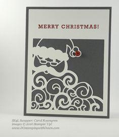 Greetings from Santa Bundle swap card shared by Dawn Olchefske #dostamping (Carol Rosengren)