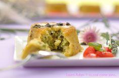 Sformatini di zucchini (al vapore) Spanakopita, Brunch, Cooking, 3, Carne, Quiche, Ethnic Recipes, Muffin, Food