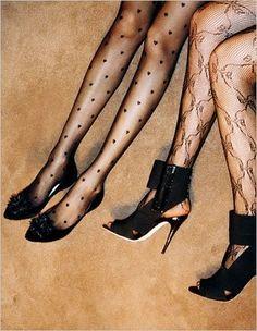 How I love stockings...