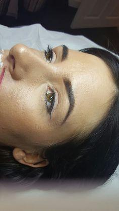 Permanent makeup eyeliner and eyelash enhancement Permanent Eyeliner, No Eyeliner Makeup, Kiss Makeup, Eyeliner Images, Long Hair Cuts, Long Hair Styles, Eyelash Enhancer, Eyeliner Tattoo, All Things Beauty
