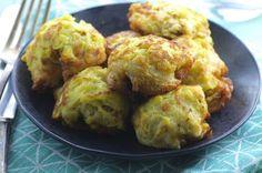 Pattypan Squash Fritters