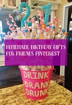 Homemade Birthday Gifts, Friend Birthday Gifts, Gifts For Friends, Gift, Friends, Kids, Handmade Birthday Gifts, Homemade Birthday Presents