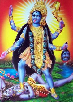Kali The Hindu Goddess Associated With Empowerment Shakti