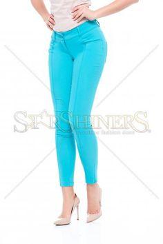 Artista Spring Joy Turquoise Trousers