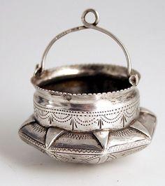 Russian Silver 1899 Tea Strainer