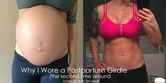 Why I Wore a Postpartum Girdle {The Second Time Around}