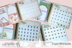 Inside of Calender Page you can use Stickers and Stamps