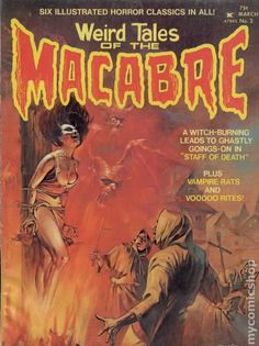 WEIRD TALES OF THE MACABRE 2, HORROR COMIC MAGAZINE