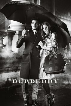Burberry A/W12 campaign starring Gabriella Wilde and Roo Panes