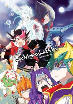 Yugioh - Yuma, Yusei, Jaden, Yuya, Astral, Vector, Kaito, Shark