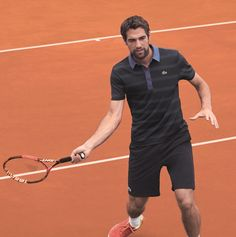 Jeremy Chardy for Lacoste