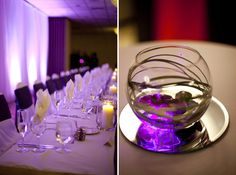 Stunning Purple Fall Wedding in St. Louis | Images by Lisa Dolan Photography | Via Modernly Wed | 32