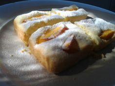 Torta de duraznos...idem receta de peras
