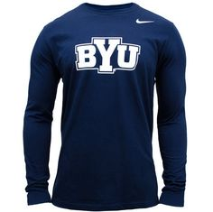 BYU Long Sleeve Shirt - Nike