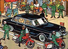 Tintin Limo car • Tintin, Herge j'aime