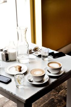 Cappuccino and Muffins. But First Coffee, I Love Coffee, Coffee Break, My Coffee, Morning Coffee, Coffee Signs, Coffee Creamer, Morning Breakfast, Funny Coffee