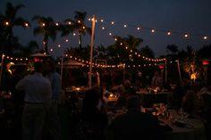 Allie's Party Rental Outdoor Wedding Free Standing Market Light Design