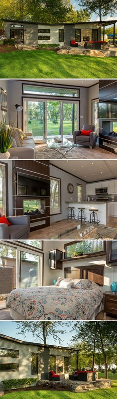 The Chapman 540 sq ft Best Tiny House, Small House Plans, Interior Design Minimalist, Building A Container Home, Container Homes, Tiny House Living, Tiny House Design, House Goals, Little Houses