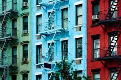 A History of New Yorkers' Love/Hate Relationship with the Fire Escape