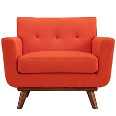 LexMod Engage Wood Armchair