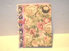 Vintage Journal by mslizz on Etsy, $20.00