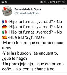 Spanish Jokes, English Memes, Sometimes I Wonder, Spain, Lol, Sayings, Funny, Quotes, How To Make