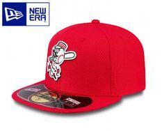 Super interessante New Era 59/50 Flatcap von den Reds bei www.capuniverse.de Front