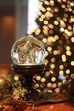 aesthetic christmas snow brown light night bustld ru before