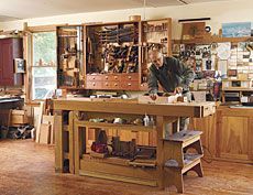 How to Make Better Use of Your Shop Space - Fine Woodworking Article
