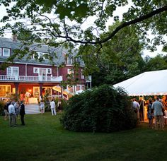 Camp Hammond, Yarmouth, Maine | The Black Tie Company - Maine's Wedding, Event Caterer and Event Designers