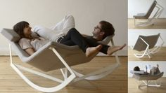 Two Person Rocking Chair For Dome Windows