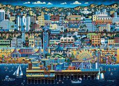 Santa Monica by Eric Dowdle