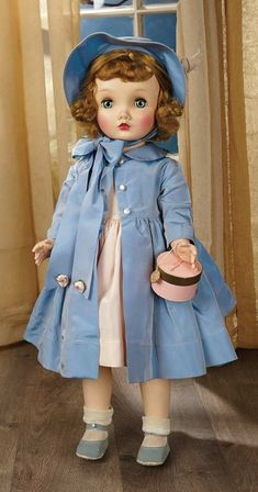 "Sanctuary: A Marquis Cataloged Auction of Antique Dolls - March 19, 2016: American Fashionable Child Doll ""Winnie Walker"" by Alexander"