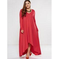 $30 live in this dress EZ elegant not itchy http://www.dresslily.com/plus-size-asymmetrical-smock-maxi-dress-product1825846.html?seid=plMd7UQjfOIAhp53It77GnEUQO