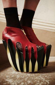 Scarpe aggressive (per non passare inosservate!) #Shoes #Fashion #Scarpe