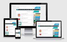 Template Blog Arlina Design : Minima Responsive