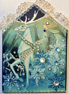 https://flic.kr/p/23q77LR | Winter Fairy Gothic arch ATC