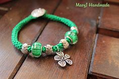 Love this crochet bracelet with beads added. free video tutorial. gotta use my mother-in-love's treasures for this!!