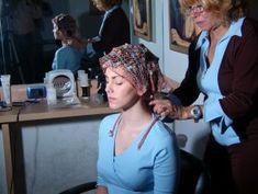 Hair Nets, Hair Setting, Hair And Beauty Salon, Roller Set, Curlers, Hairdresser, Lana, People, Photography