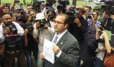 Interpone Javier Duarte denuncia contra MAYL ante la PGR