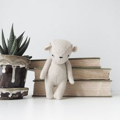 the dear ones bear made to order by ohalbatross on Etsy
