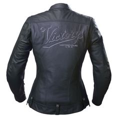 Monochromatic Victory Motorcycle jacket... nice!