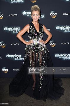 Dancer/TV personality Julianne Hough attends 'Dancing with the Stars' Season 21 at CBS Televison City on October 26, 2015 in Los Angeles, California.
